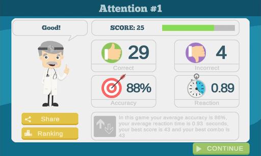 60 Brain Games: Free Mental Training! 56 screenshots 5