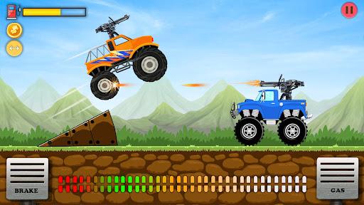 UpHill Racing Game- Shoot To Climb  screenshots 1