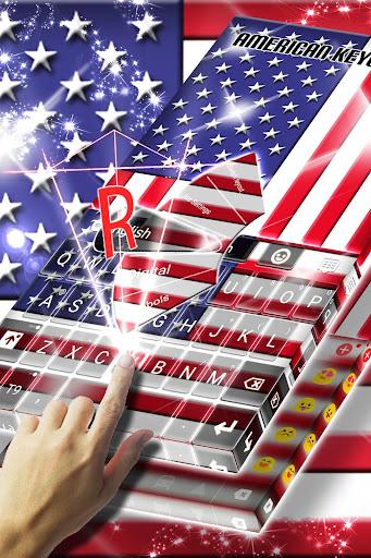 american keyboard hd screenshot 1