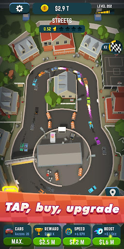 Idle Race Rider — Car tycoon simulator apklade screenshots 2