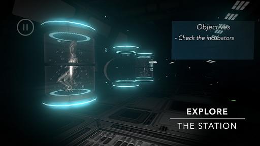deep space: first contact™ screenshot 1
