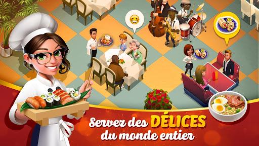Télécharger Gratuit Tasty Town 🍔🍟 Jeu de restaurant & cuisine 🍦🍰 APK MOD (Astuce) screenshots 1