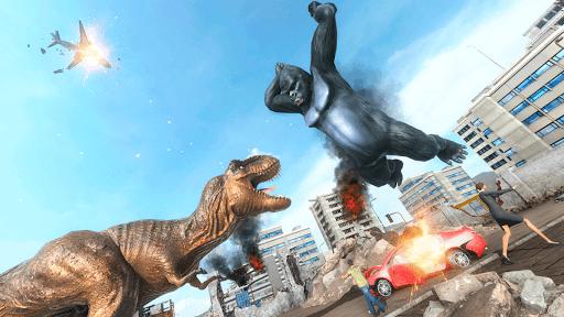 King Kong Games: Monster Gorilla Games 2021 android2mod screenshots 12