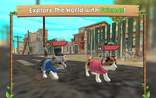 Cat Sim Online: Play with Cats 101 screenshots 4