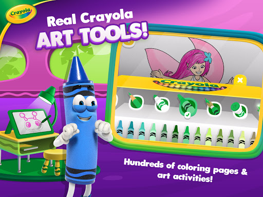 Crayola Create & Play: Coloring & Learning Games  screenshots 19