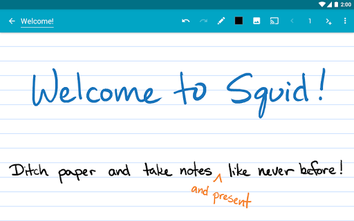 Squid - Take Notes & Markup PDFs  Screenshots 17