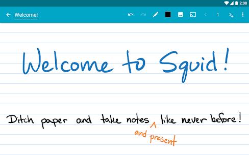 Squid Mod Apk- Take Notes & Markup PDFs (Premium) 9