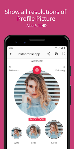 Profile Picture Downloader & Zoom for Instagram 3.0.2 Screenshots 2