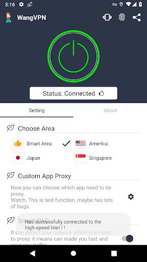 Wang VPN u2764ufe0f- Free Fast Stable Best VPN Just try it Screenshots 2