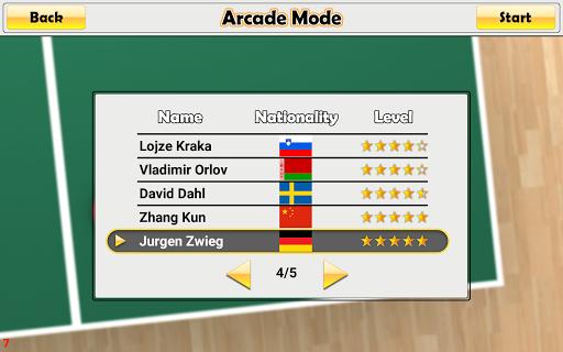 Virtual Table Tennis 2.2.0 screenshots 23