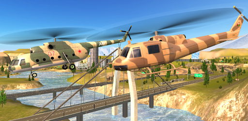 Screenshot of Army Helicopter Marine Rescue