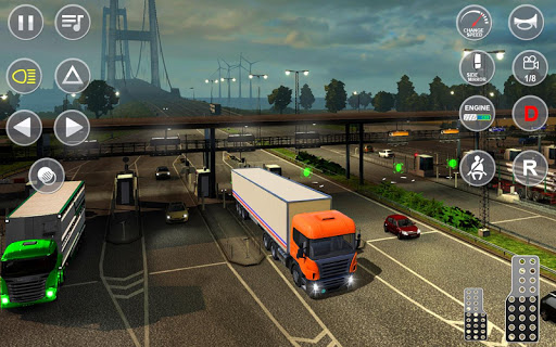Euro Truck Transport Simulator 2: Cargo Truck Game android2mod screenshots 20