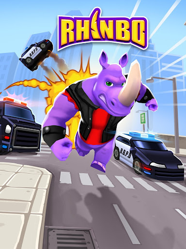 Rhinbo - Runner Game apklade screenshots 1