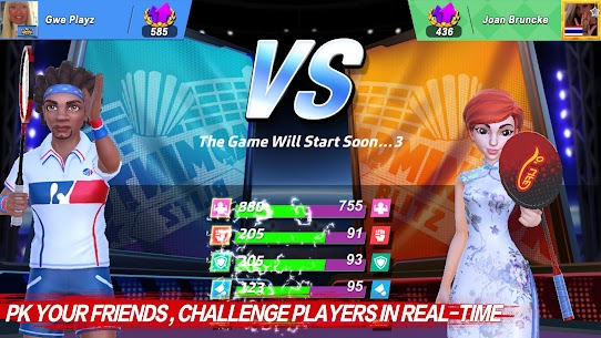 Badminton Blitz – Free PVP Online Sports Game Apk Mod + OBB/Data for Android. 5