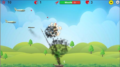 Anti Aircraft Bomber ( Airplane Games ) - Skysol 1.6.12.1 screenshots 3
