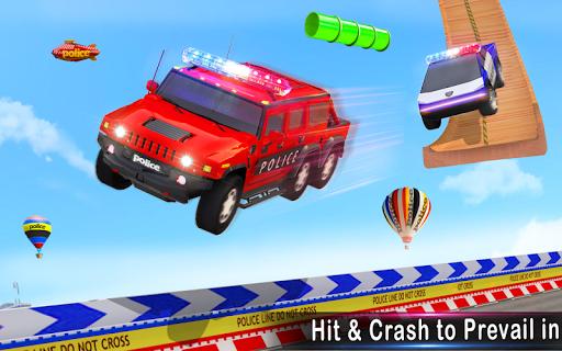 Police Car Stunts Racing: Ramp Car New Stunts Game 2.1.0 Screenshots 16