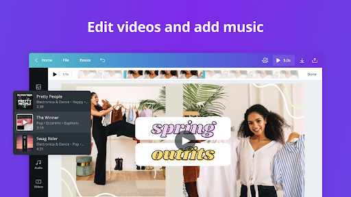 Canva: Graphic Design, Video Collage, Logo Maker screenshots 12
