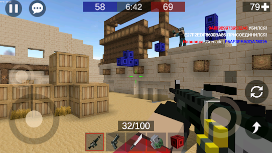 Pixel Combats 2 Mod Apk (BETA) (Unlimited Ammo) 1.307 1
