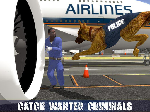 Police Dog Airport Crime Chase : Dog Games android2mod screenshots 15