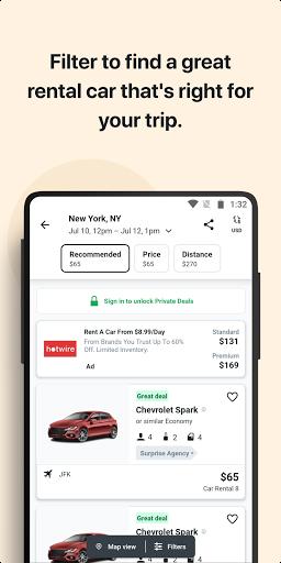 KAYAK - Flights, Hotels & Car Rental apktram screenshots 5