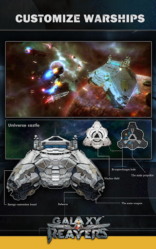 Galaxy Reavers - Starships RTS apkmr screenshots 11