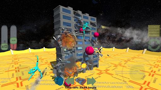 Destruction Simulator 3D Teardown Smash Buildings apkdebit screenshots 3