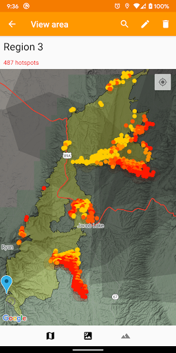 Wildfire Map, Tracker, Info + Alerts screenshot 1