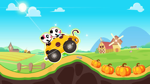 Baby Panda Car Racing  screenshots 4