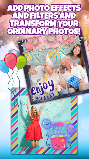 Birthday Party Invitation Card Maker with Photo 1.0 Screenshots 5