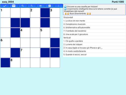 Best Italian Crossword Puzzles - Advanced Level 10.1 Screenshots 13