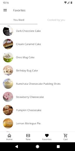 Cake and Baking Recipes  screenshots 4