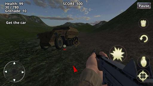 War Battleground WW2 Shooter  screenshots 11