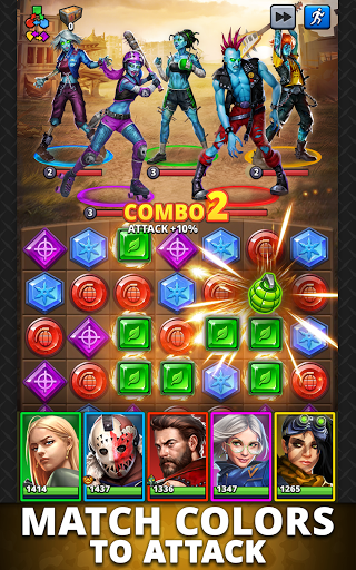 Puzzle Combat: Match-3 RPG android2mod screenshots 11