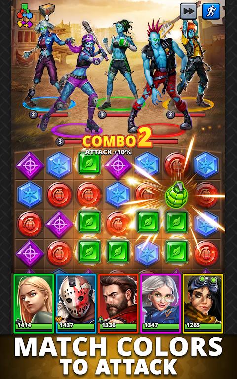 Puzzle Combat: Match-3 RPG poster 10