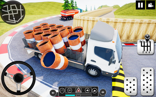 Log Transporter Truck Driving : Truck Games 2021 screenshots 14
