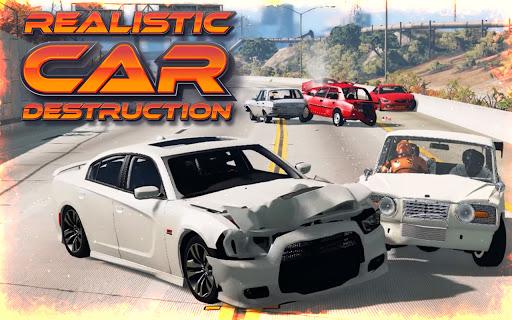 Highway Crash Car Race  screenshots 1