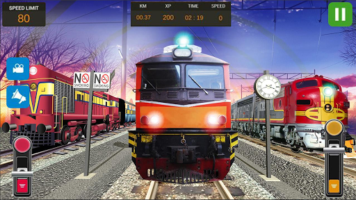 City Train Driver Simulator 2019: Free Train Games 4.4 Screenshots 16