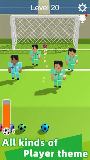 Straight Strike - 3D soccer shot game screenshots 12