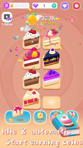 Merge Cake Mania - idle baking tycoon  screenshots 7