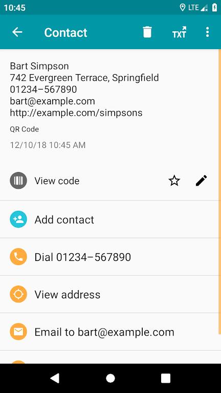 QR & Barcode Reader (Pro)  poster 1