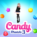 Beauty Candy Match 3 Puzzle - Androidアプリ