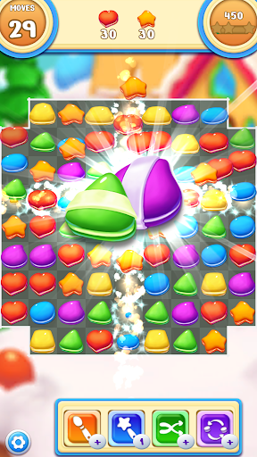 Cookie Macaron Pop : Sweet Match 3 Puzzle 1.5.4 screenshots 3