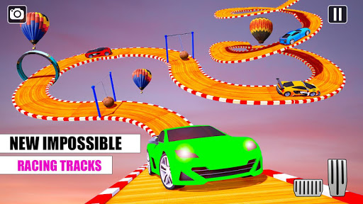 Ramp Car GT Racing Stunt Games 2020: New Car Games apkslow screenshots 11