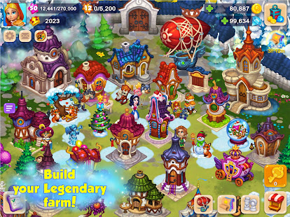 Royal Farm: Village Game with Quests & Fairy tales 1.47.0 Screenshots 14