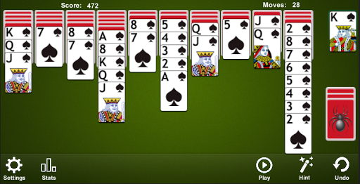 Spider Solitaire 4.7.4.6 screenshots 2