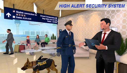 Virtual City Police Airport Manager Family Games 3.0.2 Screenshots 4