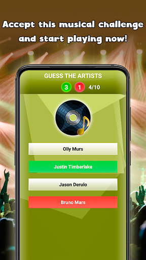 Guess the song - music games free Guess the Songs 1.5 Screenshots 4