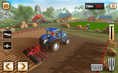 Real Tractor Drive Cargo 3D: New tractor game 2020 1