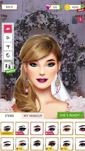 Super Wedding Stylist 2020 Dress Up & Makeup Salon 1.9 screenshots 7