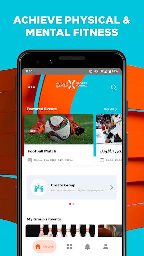 Saudi Sports for All  screenshots 1